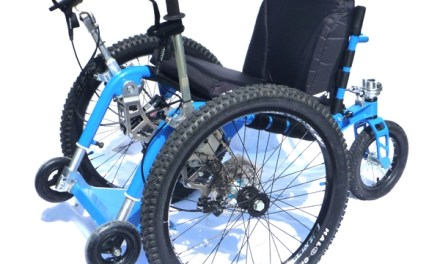 MOUNTAIN TRIKE COMPANY Announces The All Terrain Wheelchair is now available in US