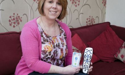Mother-of-three who suffered from crippling back pain for 30 years is finally cured – thanks to a REMOTE CONTROL