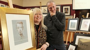 Peter Howson's wife to sell rare Bowie and Madonna work for daughter who has Asperger's syndrome