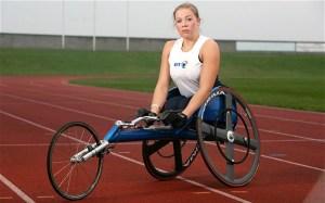 On the panel: paralympic gold medallist Hannah Cockroft Photo: Guzelian Ltd