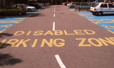 Liz Jones: Disabled parking bays are perfect – for my Land Rover
