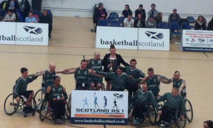 Lothian Phoenix Win Wheelchair Basketball Scottish Cup Final