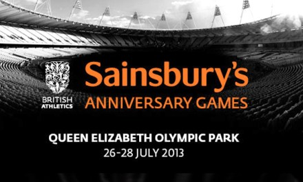 WIN 2 tickets to Sainsbury's Anniversary Games!