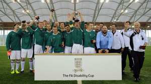 Plymouth Argyle lift the FA Disability Cup