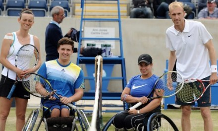 Disability Tennis showcased at Aegon Classic