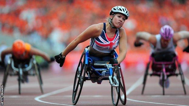 Hannah Cockroft targets double gold in Rio despite event change