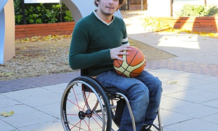 4Com support GB Junior Squad and Paralympic basketball hopeful