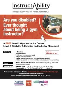 Course Advert Stoke Mandeville 1 (3) copy