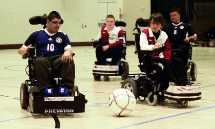 Powerchair Football Week's goal to boost numbers in sport