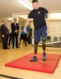 'Bionic legs' revolutionise war heroes