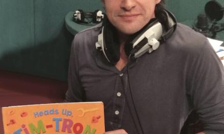 Top Gear star backs book launch