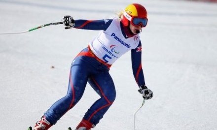 Kelly Gallagher wins Paralympic gold