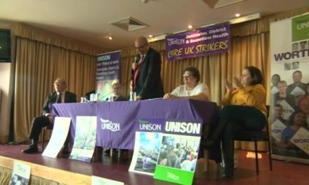 Doncaster Care UK workers stage seven-day strike