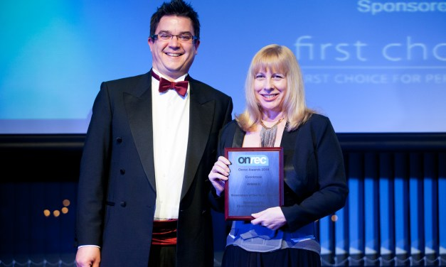 PosAbility Magazine Columnist Jane Hatton (EvenBreak) wins in Mainstream Recruitment Agency Awards