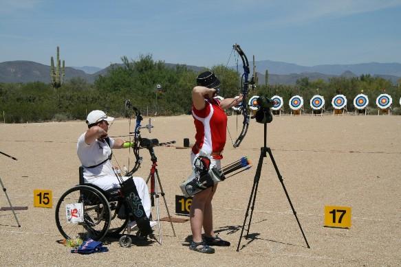 Fletchers boost grassroots disability archery