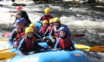 Make a Splash for charity with rafting challenge