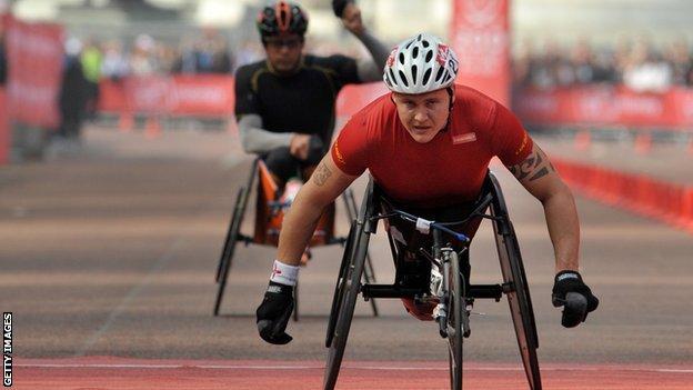 David Weir to bid for record seventh London Marathon win