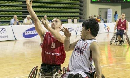 GB men's wheelchair basketballers reach world quarter-finals