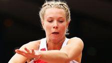 Bethy Woodward wins para-sport long jump silver