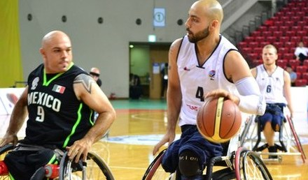 GB men's wheelchair basketball team beat Mexico to top group