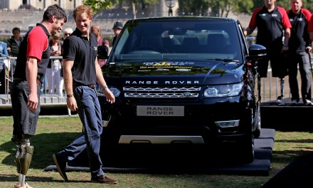 Jaguar Land Rover Announces Driving Challenge For September's Invictus Games