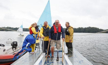 Disability sailing opportunities with WASH Sailability