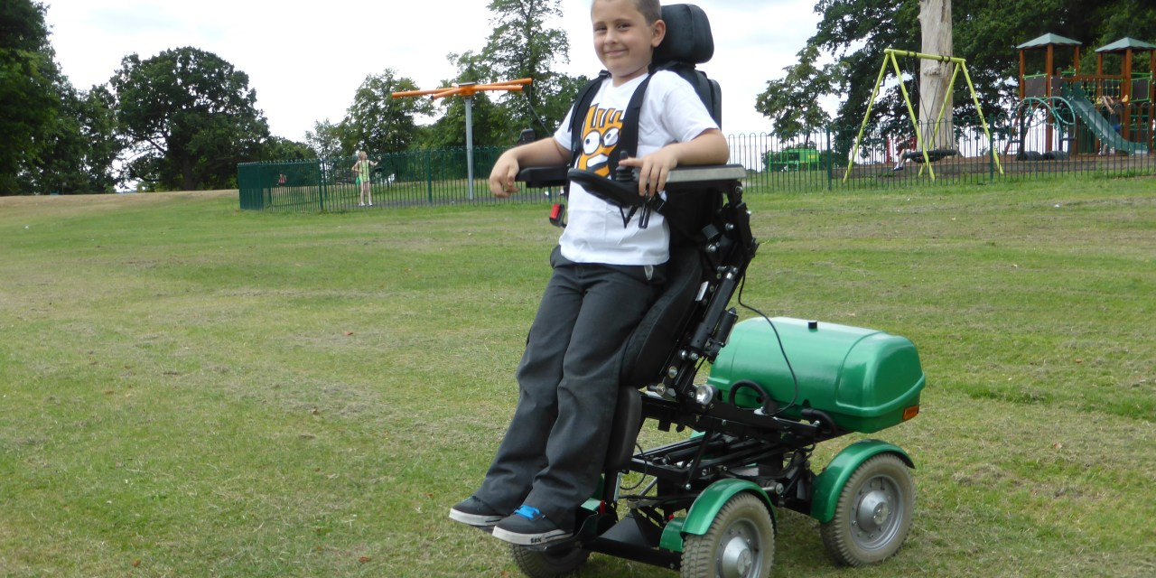 Mybility launch new Stand Up Kids' Wheelchair