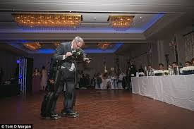 Robotic suits helps paralysed man to 'walk' at daughter's wedding