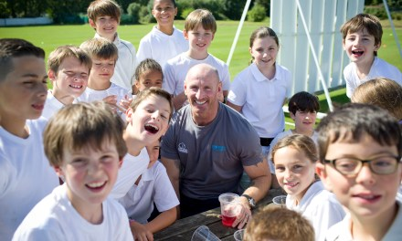 Rugby great Gareth Thomas puts his weight behind Anti-Bullying Week