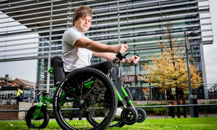 De Montfort University offers disabled students chance to use Mountain Trike