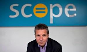 Richard Hawkes, Scope chief executive