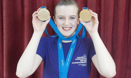 The teenager who is allergic to EXERCISE – but has still managed to become an award-winning gymnast