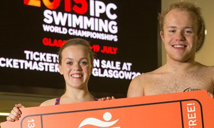Competition schedule released for 2015 IPC Swimming World Championships
