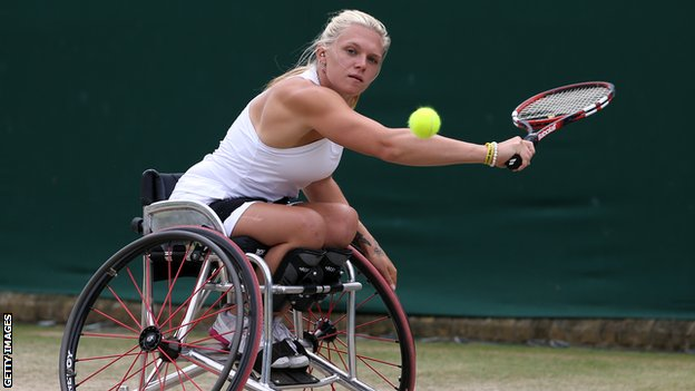 Jordanne Whiley loses in Sydney doubles final
