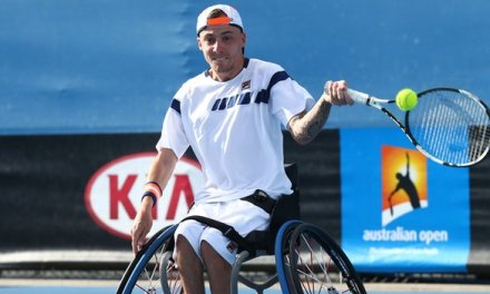 Andy Lapthorne wins fourth Australian Open doubles title