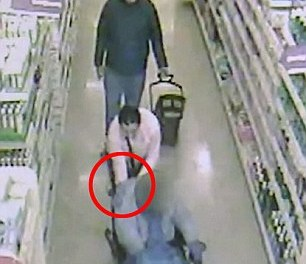 Shameless pair caught on camera stealing purse from disabled woman's wheelchair