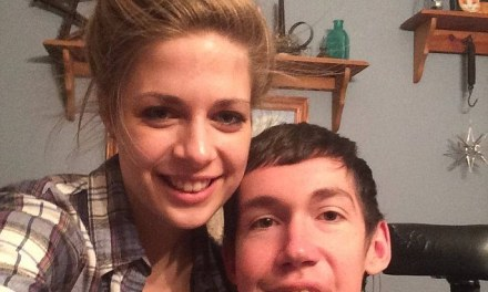 Disabled man reveals humiliation of strangers who constantly assume his pretty girlfriend is his nurse