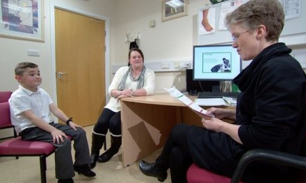 Disabled children 'left in pain'