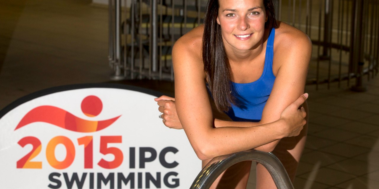 Swimming stars rally Scottish support with 150 days to go to the 2015 IPC Swimming World Championships