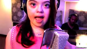 The 'inspirational' teen singer with Down's syndrome