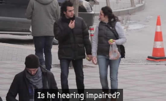Hearing Impaired Man Has One Perfect Day