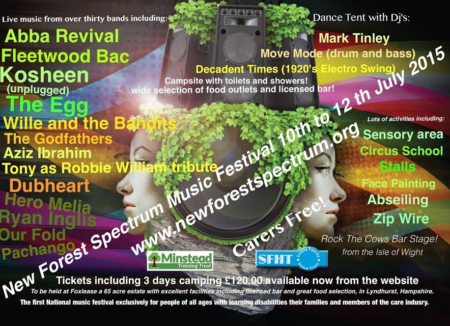 New Forest brings first ever music festival for people with a learning disability