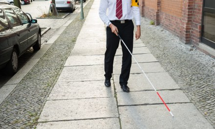A pioneering facial recognition cane for the blind
