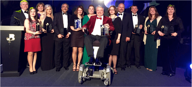 Muscle Help Foundation wins 'Social Enterprise of the Year' at the 2015 Inspiring Hertfordshire awards ceremony