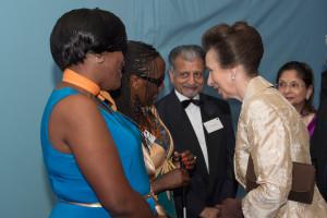 HRH The Princess Royal meeting guests Kenyan deafblind ambassadors (2)