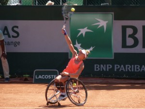 Jordanne Whiley (action)