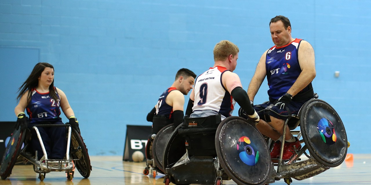 BT GB Wheelchair Rugby Squad Ready For European Championships