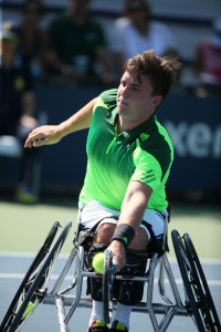 Gordon Reid at the US Open 2014 (Copyright Tennis Foundation)