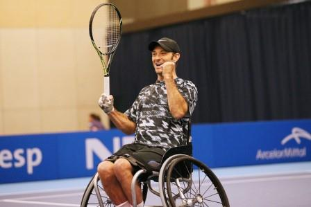 Stars return to London for 2015 NEC Wheelchair Tennis Masters