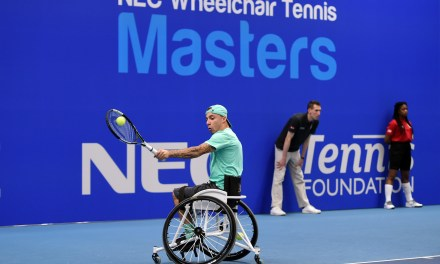 Wheelchair Tennis Masters to be shown live on BBC